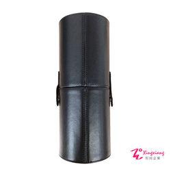 Xingxiang形向  皮革 圓筒 筆刷套(小) 魅力黑 / 豹紋 Q-75-6A/75-7A