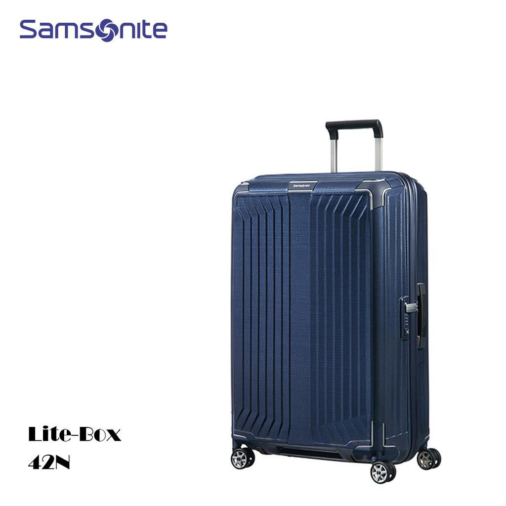 Samsonite 新秀麗【Lite-Box 42N】25吋行李箱 CURV®材質 2.6kg 歐洲製 附10年保卡