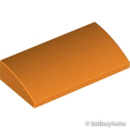 LEGO零件 弧形磚 2x4x2/3 88930 橘色 4650976【必買站】樂高零件