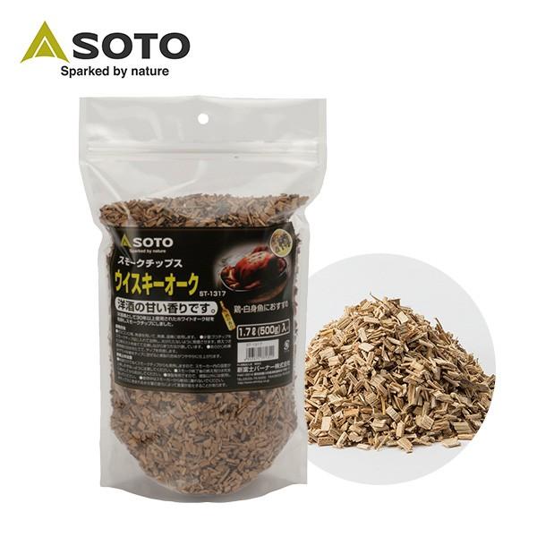 日本 SOTO 威士忌橡木桶煙燻木片(大) ST-1317