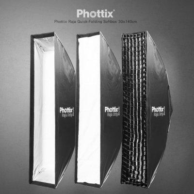 三重☆大人氣☆ 公司貨 Phottix Raja 30x140cm 快速 折疊 無影罩 長條罩 for Profoto