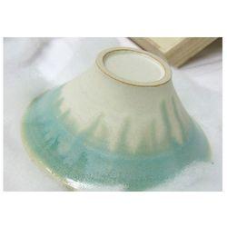 日本 Floyd 波佐見焼 手作 富士山造型 富士碗