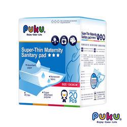 任-【PUKU藍色企鵝】 高吸量產墊13*38cm(20片)
