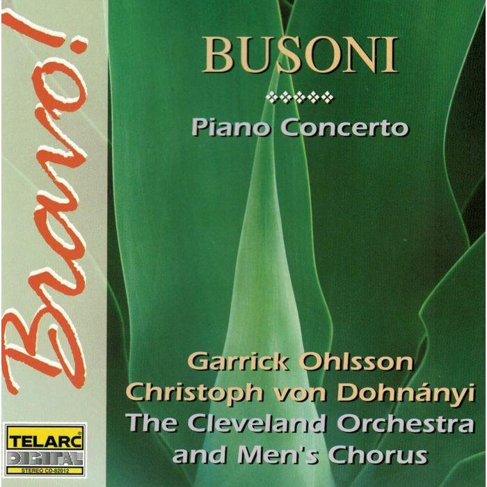 布梭尼 C大調鋼琴協奏曲 Busoni Concerto in C Major For Piano 82012