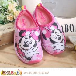 魔法Baby 女童鞋 迪士尼米妮授權正版極輕休閒鞋 sk0662