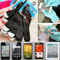 i 美麗-黑色觸屏手套(買一雙送一雙)