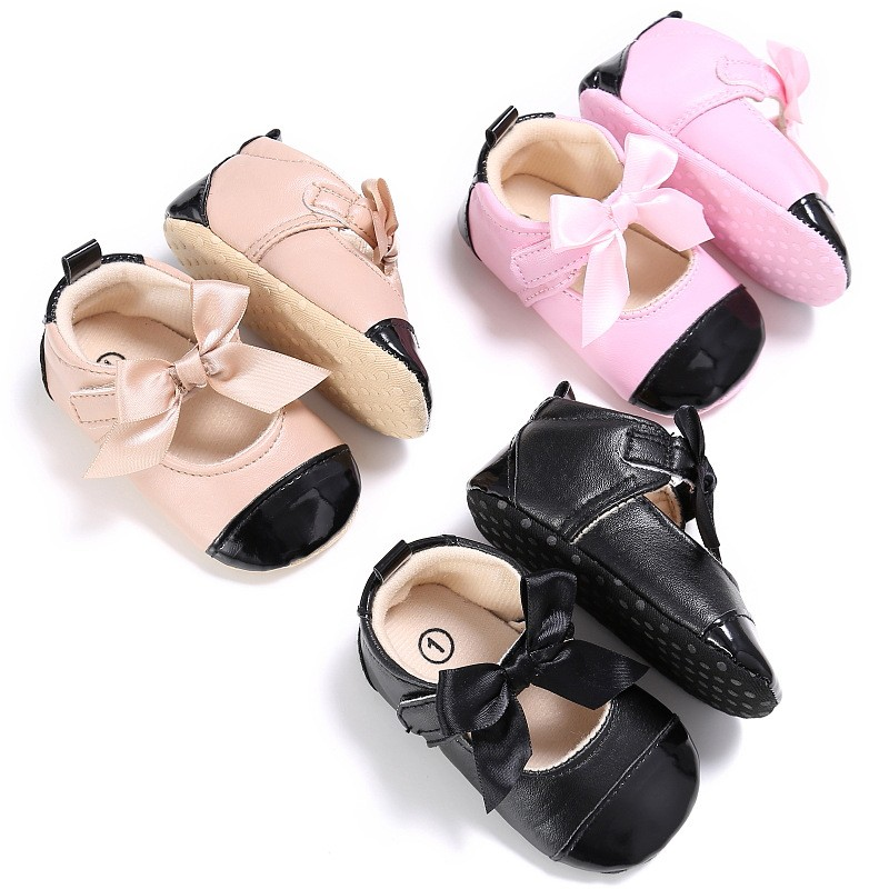 特價出清 新款夏季0-1歲女寶寶蝴蝶結公主鞋包跟軟底嬰兒學步鞋嬰兒鞋