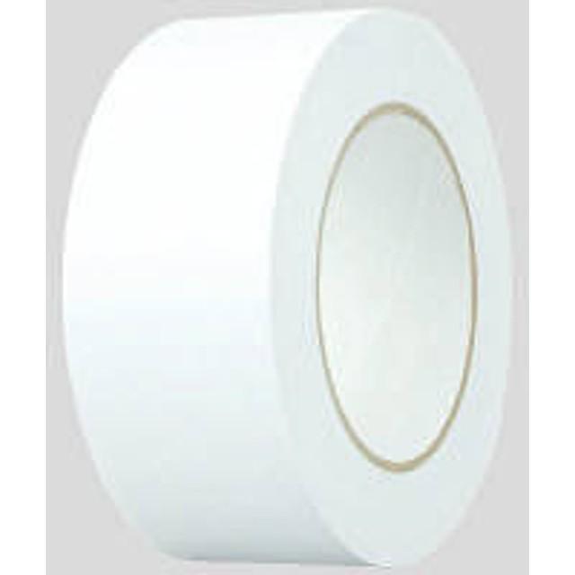 アスクル「現場のチカラ」 重ね貼りできるクラフトテープ 幅50mm×長さ50m巻 白 1巻