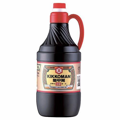 統一 龜甲萬 甘醇醬油 1.6L【康鄰超市】