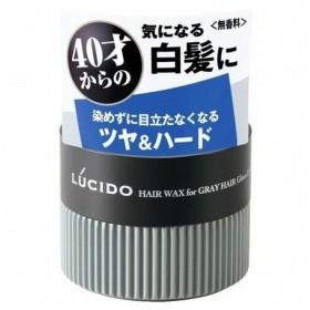 マンダム ルシード 白髪用ワックス グロス&ハード 80g