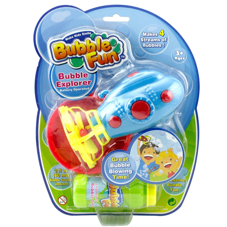 樂彩森林 - 電動泡泡機-潛水艇(顏色隨機)(附泡泡水60ml)
