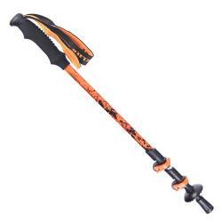 犀牛RHINO 快扣登山杖(健行杖)-橘