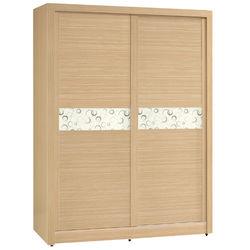 【時尚屋】[G16]白橡色5尺金圓滿衣櫥G16-028-3