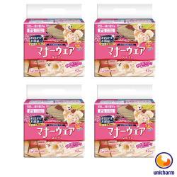 Unicharm 日本消臭大師 禮貌帶女用-超小型犬SSS 42片 X 4包