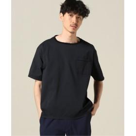 417 EDIFICE COOLMAX / クールマックス サッカープルオーバーシャツ ブラック L
