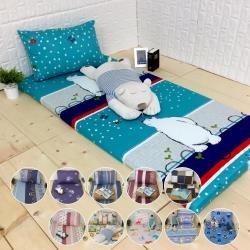 【McQueen‧麥皇后】《生活達人》雙人5尺簡易型床墊套加贈枕套(11款任選)