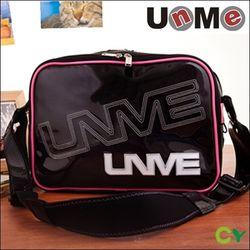 【UnMe】亮面風格側背包(三色)-小