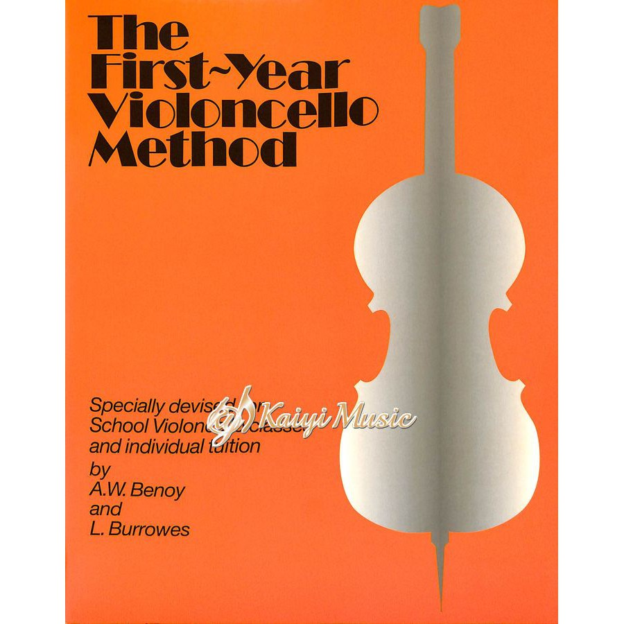 【Kaiyi Music】The First Year Violoncello Method