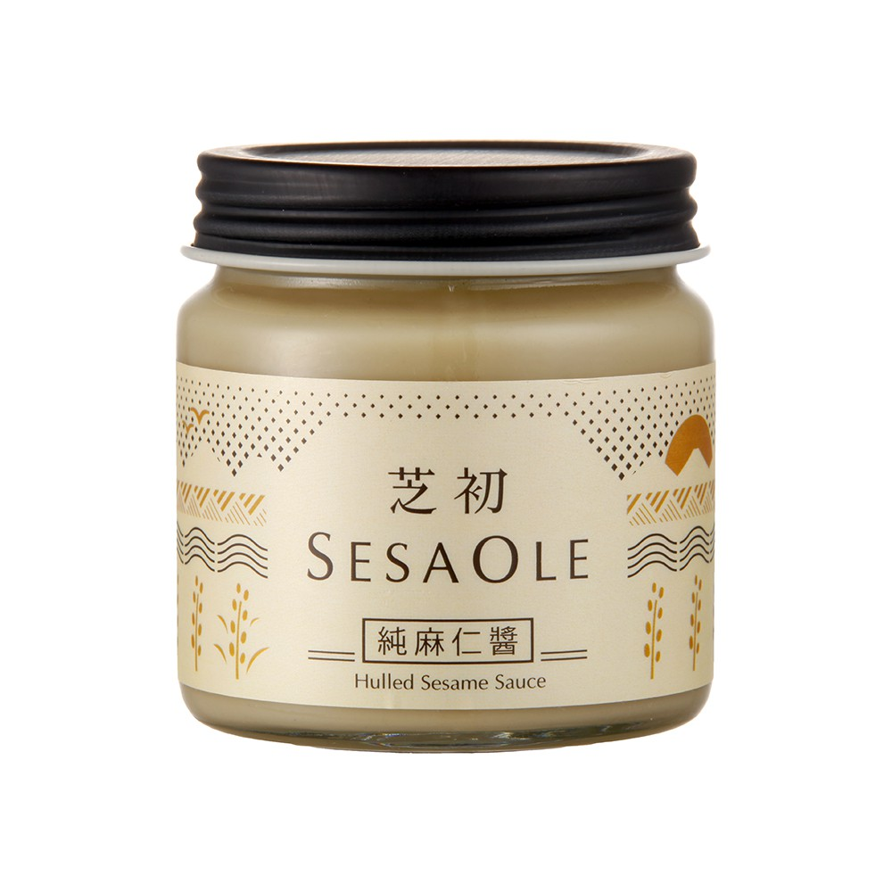 SesaOle【芝初】純麻仁醬170g 無添加 白芝麻醬