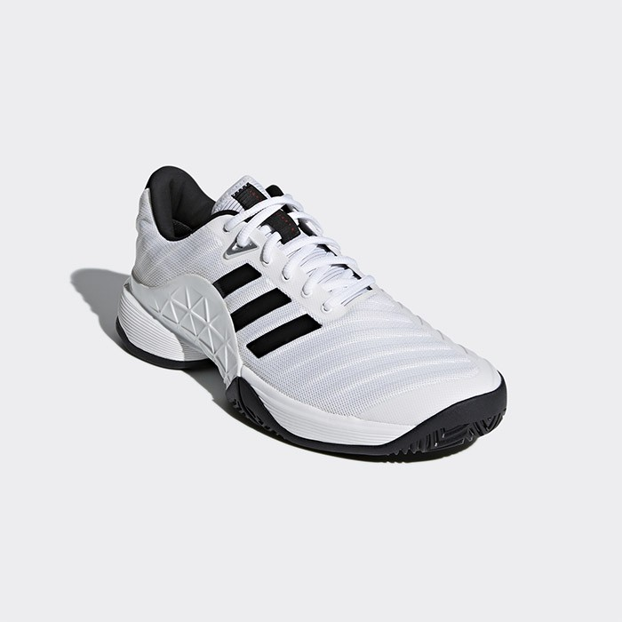ADIDAS 愛迪達 18SS 高階 網球鞋 Barricade系列 CM7819 贈MIT運動腿套