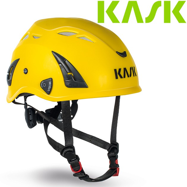 KASK 岩盔/頭盔/安全帽/攀岩/溯溪/登山/攀樹/工作工程頭盔 Superplasma PL AHE00005 黃色