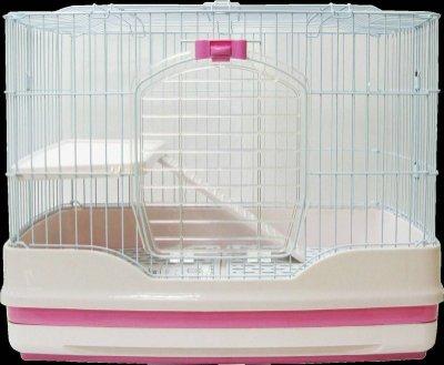 【阿肥寵物生活】 歡樂草莓大聖代屋  PPS-150抽屜式雙層寵物籠/貓咪、兔兔、天竺鼠、寵物貂、龍貓皆適用