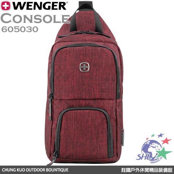 WENGER 側背包 Console | 605030 【詮國】