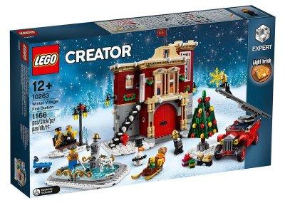 LEGO 樂高 10263 (樂高熊) Creator系列 冬季 消防局 全新未拆 保證正版