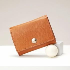 [マルイ]【セール】角シボ型押し・三つ折りミニ財布/トプカピ(TOPKAPI)
