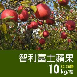 築地一番鮮-美國富士蘋果10kg(32-36顆/箱)