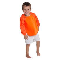 【Mum 2 Mum】神奇長袖吸水圍兜-橘(加大)