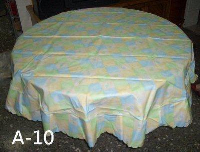 ◇ 茉莉屋 ◇A級系列防水桌巾(6 尺圓)180公分-防水、耐熱,可用溼布擦拭