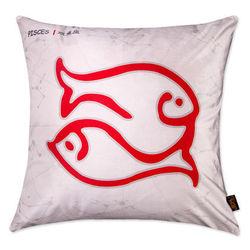【協貿】時尚簡約休閒可愛創意十二星座之雙魚座抱枕含芯
