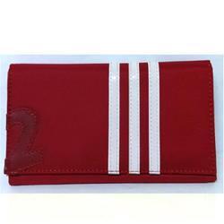典雅 極簡運動風時尚中夾-紅色