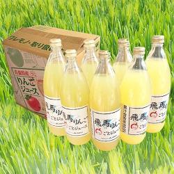 日本青森100%蘋果汁(1000cc×6瓶入/箱)