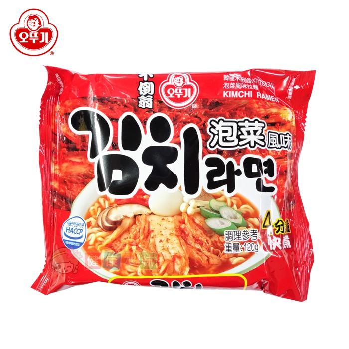 韓國不倒翁OTTOGI泡菜風味拉麵120g [KO45521312] 健康本味