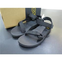 TEVA 海灘涼鞋 正品 1004010BLK 男款黑白經典款海灘涼鞋 iSPORT愛運動