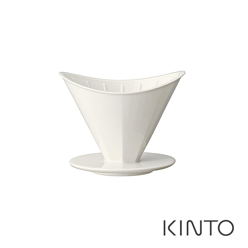 【日本KINTO】OCT八角陶瓷濾杯 2杯 / 4杯-共2色
