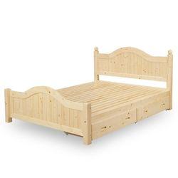 【時尚屋】[NM7]芬蘭5尺抽屜雙人床NM7-60-2免運費/免組裝/臥室系列