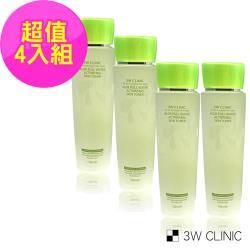 韓國3W CLINIC 蘆薈舒敏保濕化妝水 150ml x 4入(舒敏 保濕 化妝水)