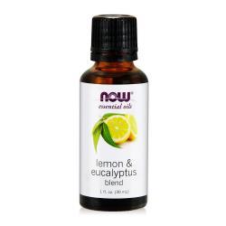 NOW 檸檬尤加利複方精油(30ml)Lemon  Eucalyptus Blend