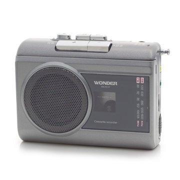 【划算的店】公司貨~WONDER 旺德 AM/FM卡式錄音機 WS-R13T