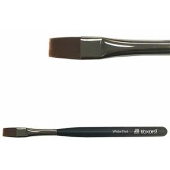 ネイルブラシ ジェルブラシ ココイスト ジェルネイル用ブラシ ワイドフラット筆