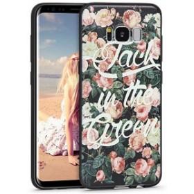 fbcdbcc30b Samsung Galaxy s8 ケース ギャラクシーs8 ケース スマホケース 花柄 ソフトケース おしゃれ 可愛い 携帯ケース
