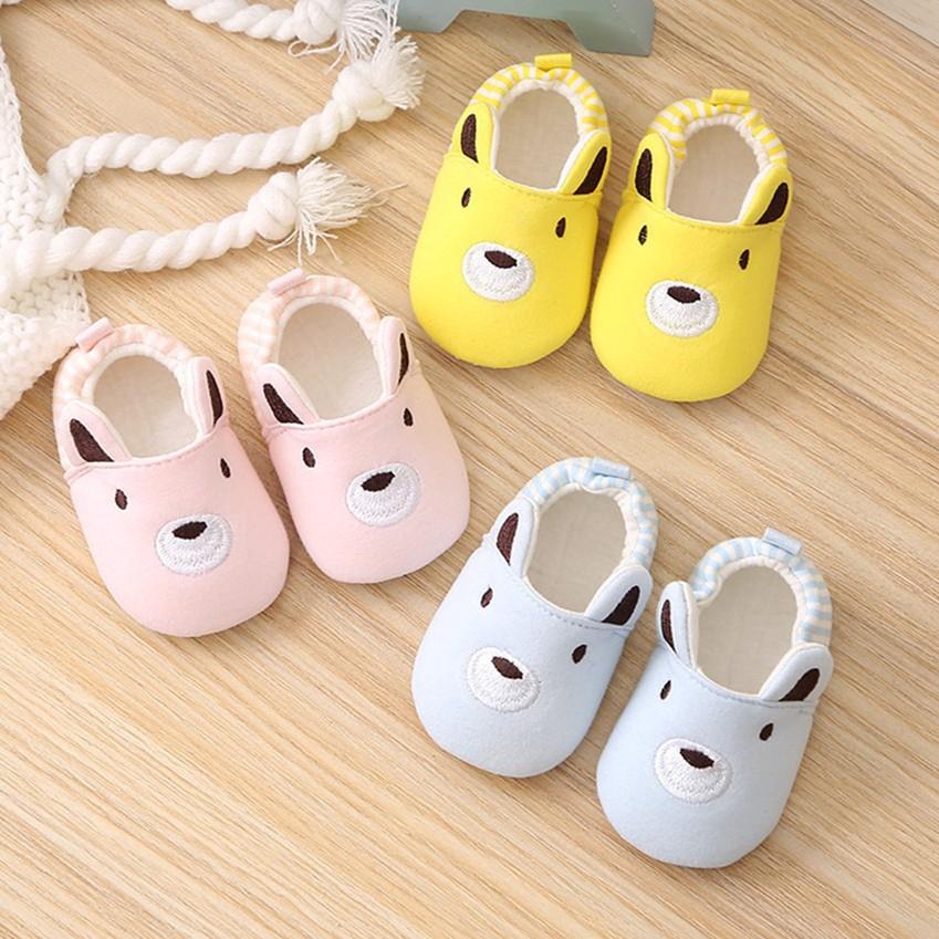 春秋季0-12個月男女寶寶軟底學步鞋純棉嬰兒步前鞋布鞋條紋