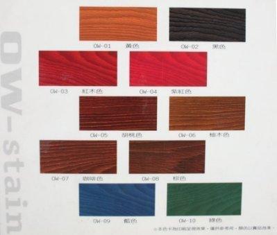 【歐樂克修繕家】萬能著色劑 木材 石材染色劑 水性及油性木器漆都可使用~(免運費)