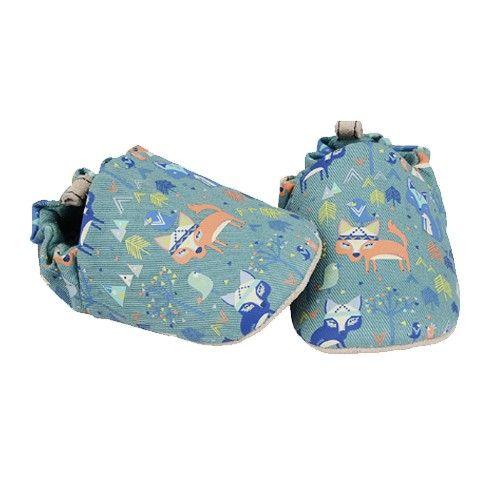 英國 Poconido - 寶寶手工鞋/學步鞋-小小狐狸