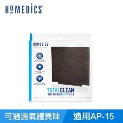 美國 HOMEDICS AP-15活性碳除臭濾網 ( 小/四入組 )