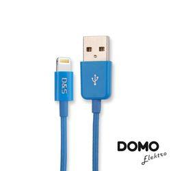【DOMO】蘋果MFI認證Lightning USB充電傳輸線(1m)-2色