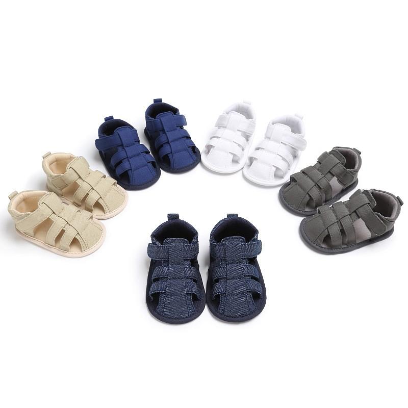 新款夏季0-12個月男寶寶鞋女寶寶鞋防滑嬰兒涼鞋嬰兒鞋軟底嬰兒學步鞋童鞋男嬰鞋女嬰鞋幼童鞋
